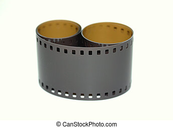 135mm upclose - macroshot of  135mm undeveloped film