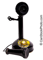 Antique Telephone - Vintage Rotary Telephone