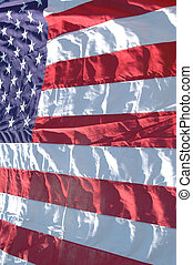 united states flag - flag of the usa bright and bold full...