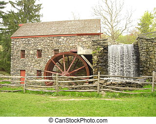 Old Mill - Working mill in Sudbury, MA