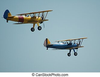 Vintage Airplanes - Photographed at air show Florida.
