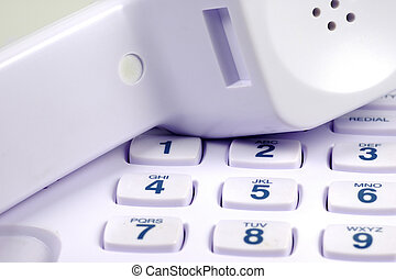 Telephone Keypad and Headset