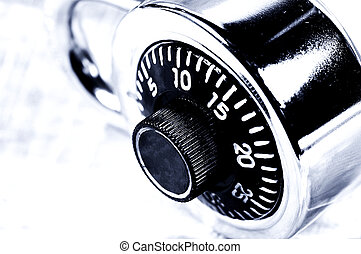 Combination Lock - Photo of a Combination Lock