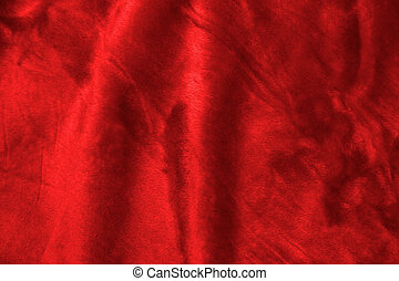 Soft Background - Soft red fabric closeup