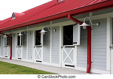 Horse Stable - Nice clean horse stables Good lighting and...