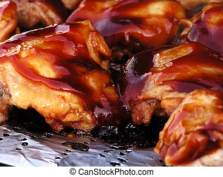 Barbecue Chicken - chicken with barbecue sauce