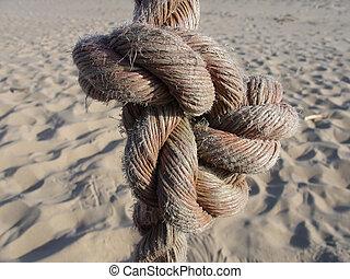 desert problem - a knot closeup