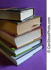Reading Books - Stack / pile of books