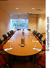 Conference Room - Shot of an upscale conference meeting room...