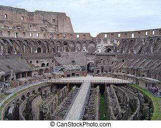 Inside the Colosseum - Rome - The Colosseum - Rome
