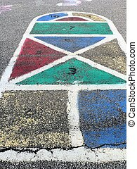 Hopscotch - Colorful Hopscotch