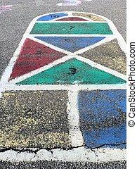 Hopscotch - Colorful Hopscotch