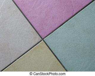floor tiles - abstract floor tiles