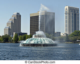Orlando Florida - Lake Eola
