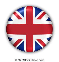 uni, royaume, drapeau