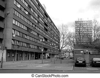Clapham 30 - This is one of the many residential buildings...