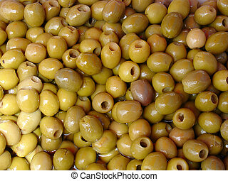 Green olives - Marinated green olives