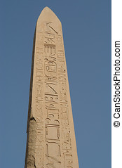 Obelisk - Egyptian obelisk in Karnak, Africa