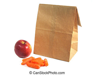Brown Bagging - Nutritious snacks for a brown bag lunch