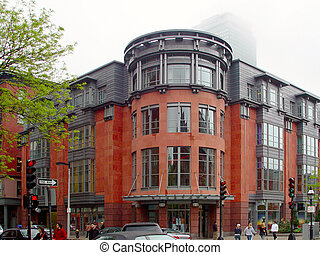 Newbury Street, Boston Massachusetts - view of corner...