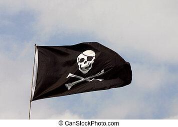 Pirates ahoy - Priates flag