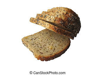 bread 2 - bread isolated with PSP , pure white background