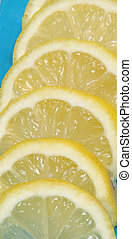lemons - lemon slices