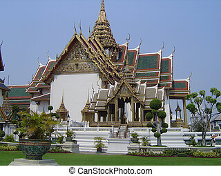 Grand Palace - Thailand - View of The Grand Palace