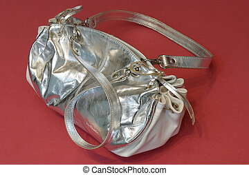 silver bag - bag