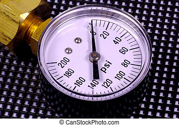 Pressure Gauge - Photo of a Pressure Gauge