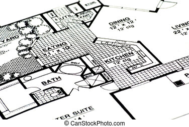 Home Plans - Architectural Plans For a Home.