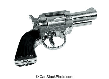 Cap Gun - Isolated Toy Cap Gun