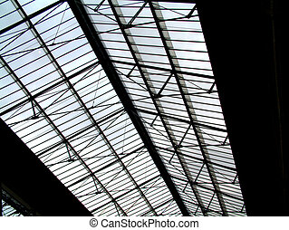 Roof - This is a glass roof.