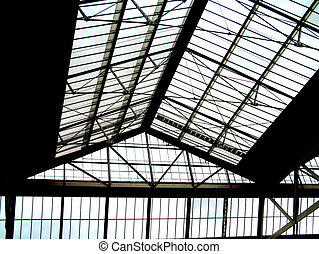 Roof 2 - This is a glass roof.