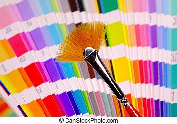 Fan Brush - Fan Style Paint Brush