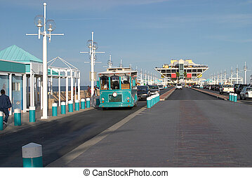 St Petersburg Pier - A long view of The Pier in St...
