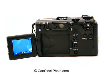 Digital Camera - Digital camera with flip out lcd screen -...