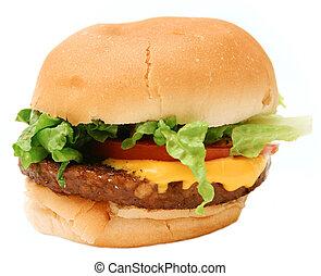 veggie, hambúrguer, 2