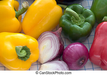 Fresh Vegetables - Fresh vegetables on the table.
