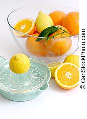 Preparing Lemonade