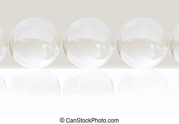 bubble background - High key bubble background
