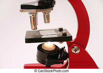 Microscope series 2 - Microscope with slide