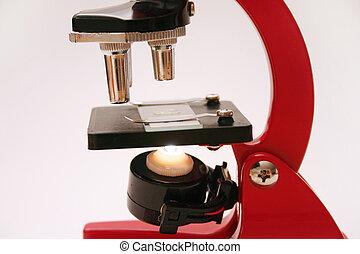 microscópio, série, 2