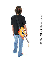 Teen Boy Guitar