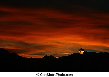 Wasatch Sunrise - Deep soft sunrise over the Wasatch...
