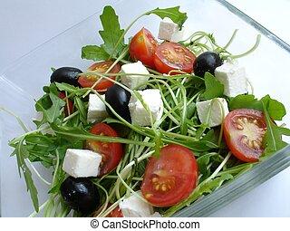 rucola salad 2 - rucola salad