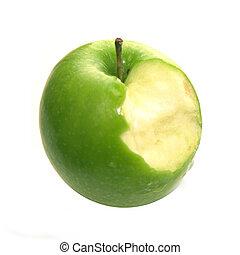 manzana, mordedura