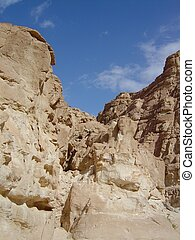 Sinai mountains and desert in Egypt