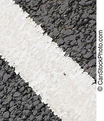Road markings - road markings