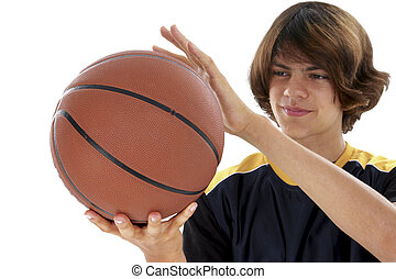 Teen Boy Basketball